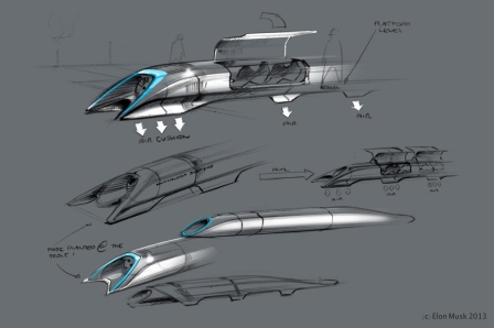 Why Elon Musk Hyperloop on an eCommerce platform site?