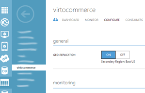Virto Commerce images stored in the cloud