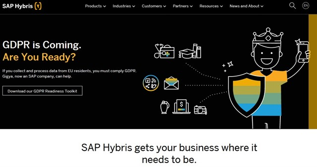 Product information management - Hybris Software