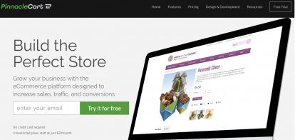 Shopify Alternative - PinnacleCart