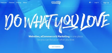 Top Ecommerce Platforms - Weebly